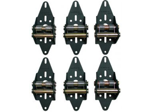 Residential 4 panel hinge set - Green Hinge System