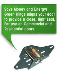 Save money and energy! - Green Hinge System