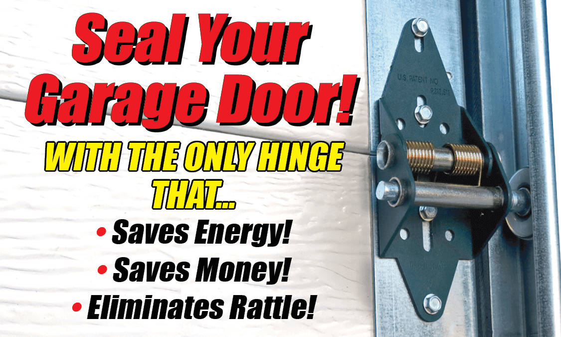 Seal your garage doors with the only hinge that... - Green Hinge System