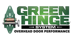 Logo Green Hinge System - Overhead Door Performance